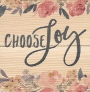Choose Joy, Rustic Magnet