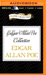 Edgar Allan Poe Collection: The Black Cat Gold Bug - unabridged audio book on MP3-CD  -     Narrated By: John Chatty, Walter Covell     By: Edgar Allan Poe
