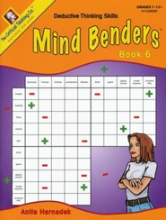 Mind Benders Book 6, Grades 7-12