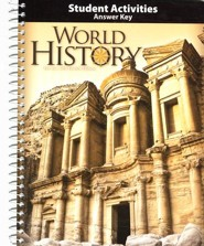 BJU World History Student Activities Answer Key, Grade 10, 4th Ed.