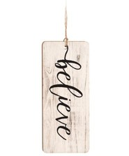 Believe, Farmhouse Ornament