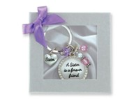 Sister Is A Forever Friend Keyring