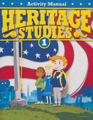 BJU Heritage Studies Grade 1 Activity Manual, 3rd Edition