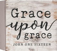 Grace Upon Grace, Barnhouse Box Decor