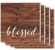 Blessed Coasters, Set of 4