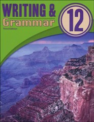 BJU Writing & Grammar Student Worktext, Grade 12, 3rd Edition