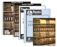 BJU Elements of Literature Grade 10 Homeschool Kit (2nd Edition)