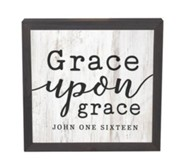 Grace Upon Grace, Framed Decor