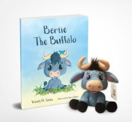 Bertie the Buffalo, Book and Soft Toy