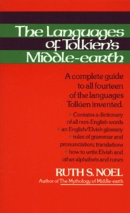The Languages of Tolkien's Middle-earth