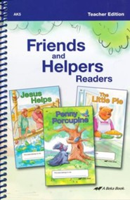 Abeka Friends and Helpers Readers Teacher Edition