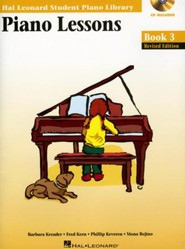 Piano Lessons-Book 3 (Book/Enhanced CD Pack)