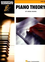 Essential Elements Piano Theory-Level 1