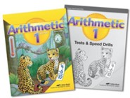Abeka Homeschool Child Grade 1 Arithmetic Kit (New Edition)