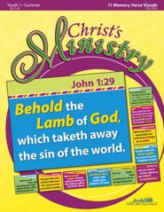 Christ's Ministry Youth 1 (Grades 7-9) Memory Verse Visuals