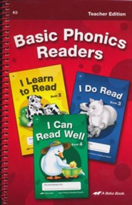 Abeka Basic Phonics Readers Teacher Edition