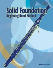 Abeka Solid Foundation Beginning Band Method: Bassoon