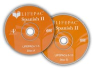 Lifepac Spanish 2 CD for Workbooks 6-10