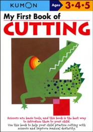 Kumon My First Book of Cutting, Ages 3-5