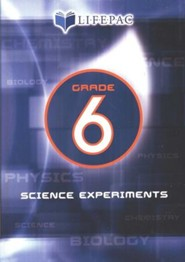 Lifepac Science Grade 6: Science Experiments on DVD