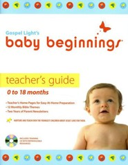 Baby Beginnings Teacher Guide 0-18 Months  With CD-Rom