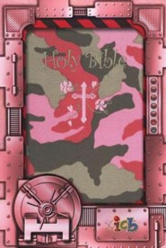 Softcover Camouflage Book Black Letter