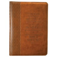 For I Know the Plans, Journal, Brown, Large
