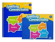 Zaner-Bloser Spelling Connections Grade 1: Student & Teacher Editions (Homeschool Bundle -- 2016 Edition)