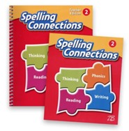 Zaner-Bloser Spelling Connections Grade 2: Student & Teacher Editions (Homeschool Bundle -- 2016 Edition)