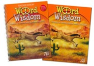 Zaner-Bloser Word Wisdom Grade 4: Student & Teacher Editions (Homeschool Bundle)