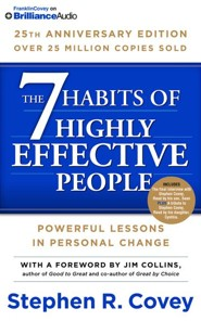 The 7 Habits of Highly Effective People: 25th Anniversary Edition - unabridged audio book on CD