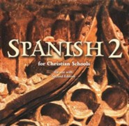 BJU Press Spanish 2 Audio CD Set (2nd Edition)