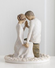 Willow Tree, Around You Cake Topper