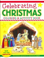 Celebrating Christmas Coloring & Activity Book