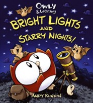 Owly & Wormy, Bright Lights and Starry Nights - eBook  -     By: Andy Runton     Illustrated By: Andy Runton