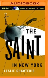 #15: The Saint In New York - unabridged audio book on CD  -     Narrated By: John Telfer     By: Leslie Charteris