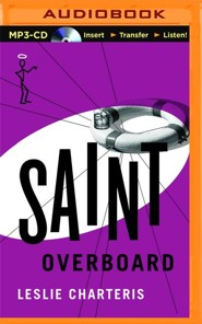 #16: Saint Overboard - unabridged audio book on CD