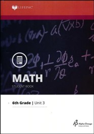 Math Grade 6 LIFEPAC 3: Multiplying Mixed Numbers (2015 Updated Version)