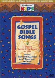 Gospel Bible Songs on DVD