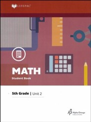 Grade 5 Math Lifepac 2: Multiplication and Division  (2016 Updated Edition)