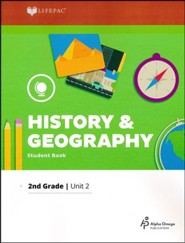 Grade 2 History & Geography LIFEPAC 2, (2017 Updated Edition)