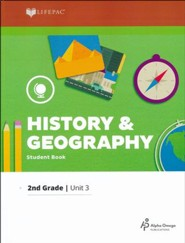 Grade 2 History & Geography LIFEPAC 3, A New Government for  a New Country (2017 Updated Edition)