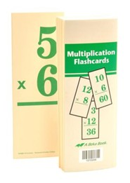 Abeka Multiplication Flashcards
