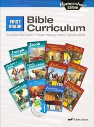 Abeka Homeschool First Grade Bible Curriculum/Lesson Plans