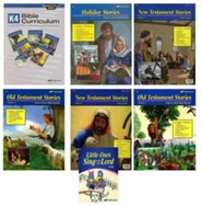 Abeka Grade K4 Homeschool Bible Kit