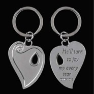 The Reunion Heart Keyring