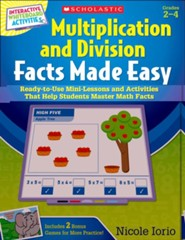 Interactive Whiteboard Activities Multiplication and Division Facts Made Easy
