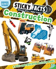 Sticky Facts: Construction Activity Book