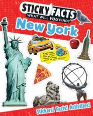 Sticky Facts: New York Activity Book