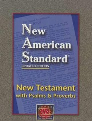 NASB NT Psalms and Proverbs, bonded leather black